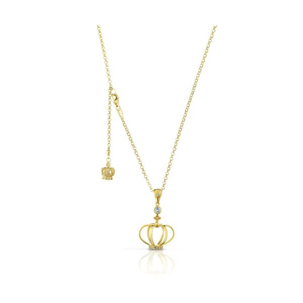 Blue topaz and 8/8 diamond  cut  necklace